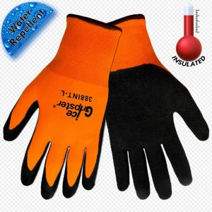 Reinforced Thumb Crotch and Knuckle Global Glove KS300LF-L Aralene with Leather Face