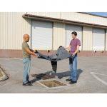 9397-drain-guard-heavy-metal-model-men-installing