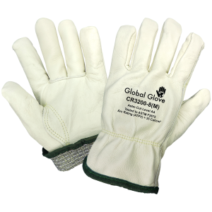 Global Glove CR3200 Leather Drivers Glove