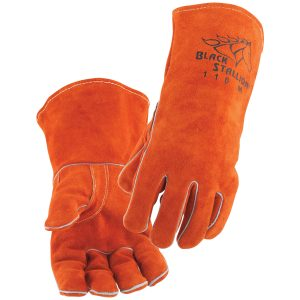 Black Stallion Leather Welding Gloves