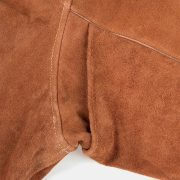 black stallion split leather welding jacket under arm seem