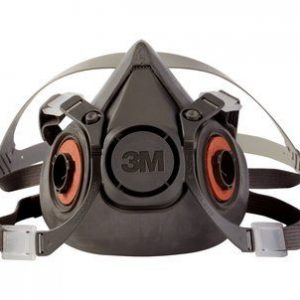 3m 6300 half face piece reusable respirator
