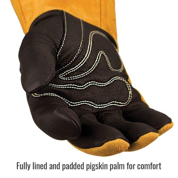 Black Stallion MIG Glove padded palm