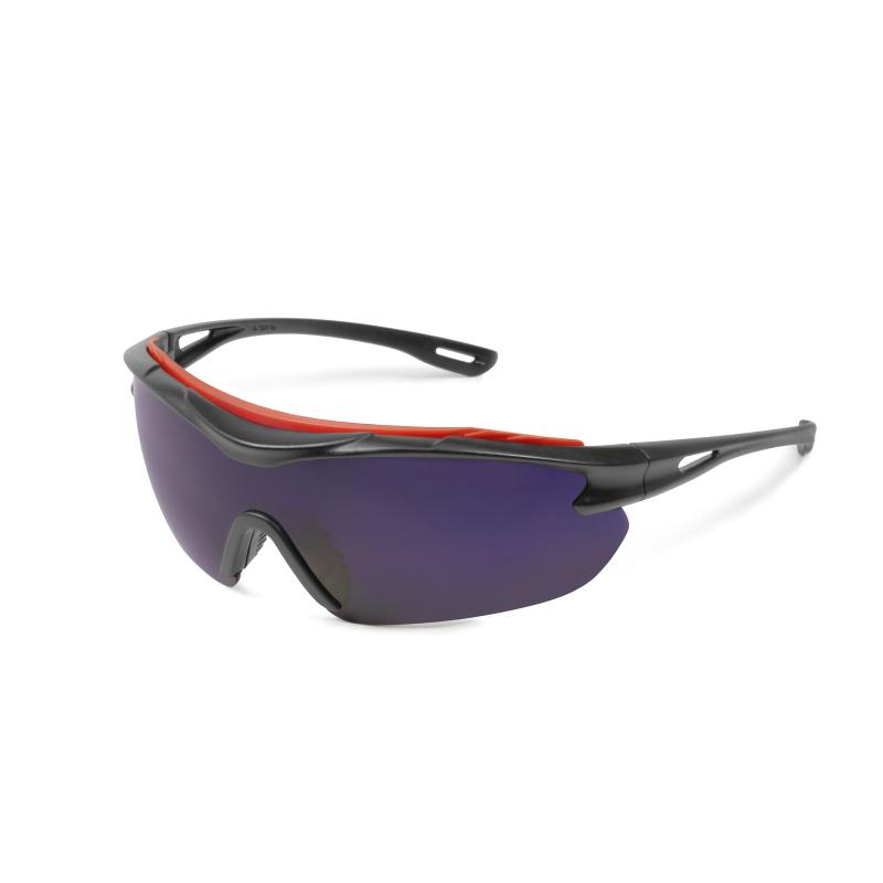 Browspecs flame resistant safety glasses, colbalt