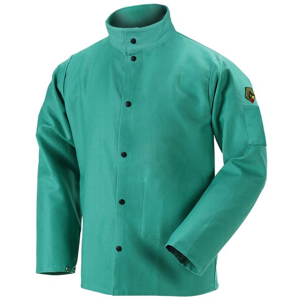 F9-30C Flame resistant jacket green
