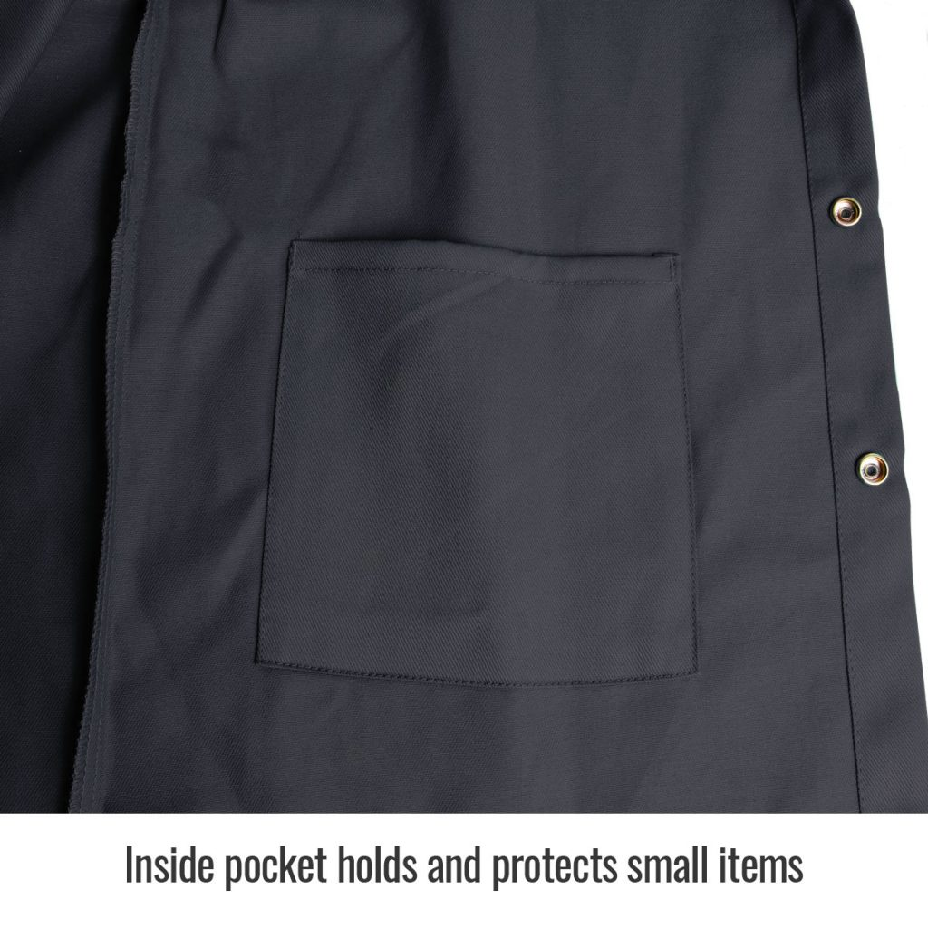 FBK9-30C black flame resistant jacket inside pocket
