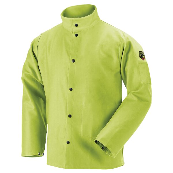 FL9-30C Welders jacket Lime Green