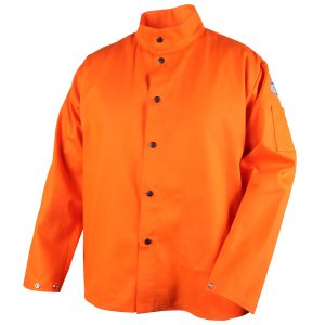 Black Stallion flame resistant jacket, orange
