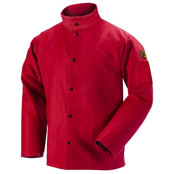 FR9-30C Red welders jacket