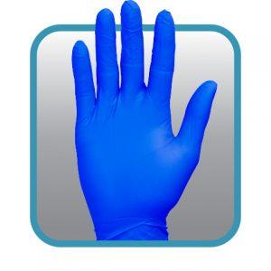 GNPR-1BL blue nitrile glove