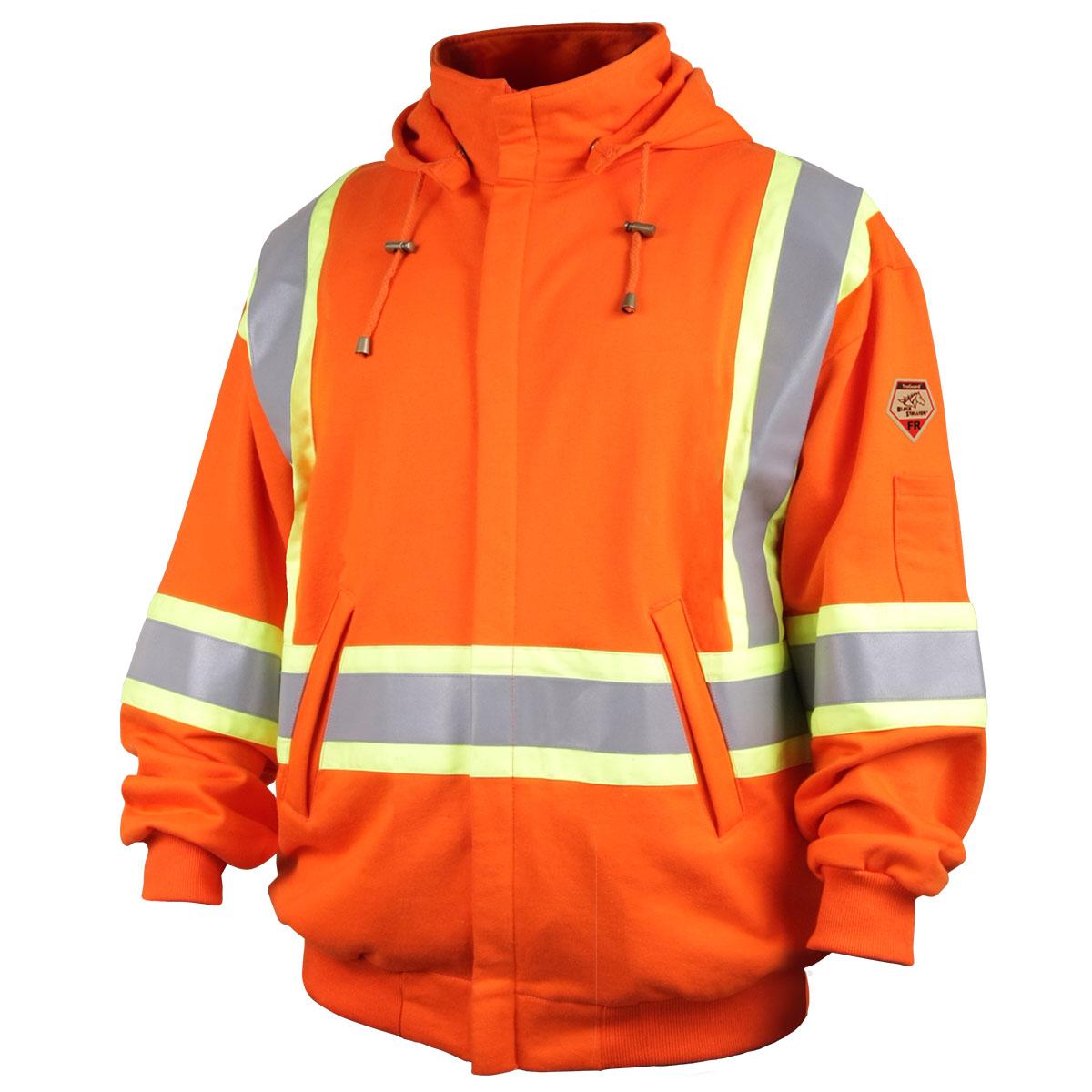 Black stallion flame resistant hoodie