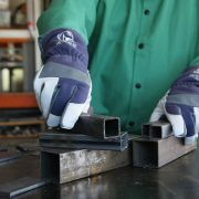 Black Stallion Premium TIG welding glove action shot 2