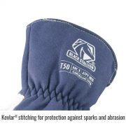 Black Stallion Premium TIG welding glove kevlar sticking