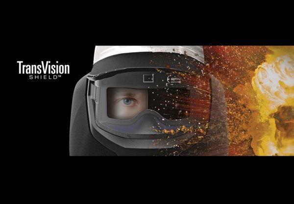 Stanco TransVision Shield reacting to arc flash