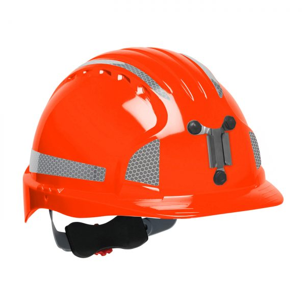 Evolution Deluxe 6151 mining hard hat orange