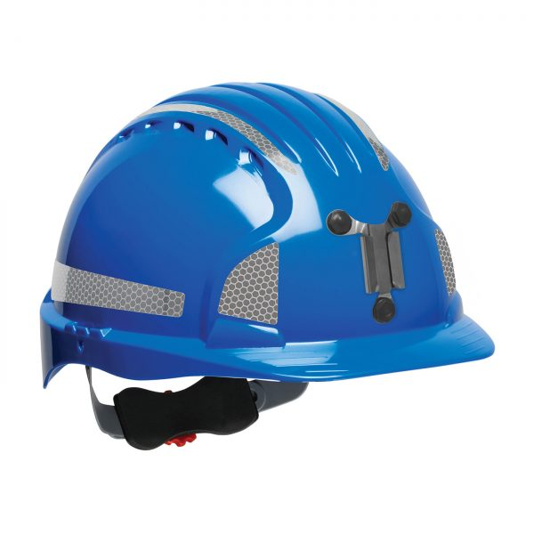 Evolution Deluxe 6151 mining hard hat blue