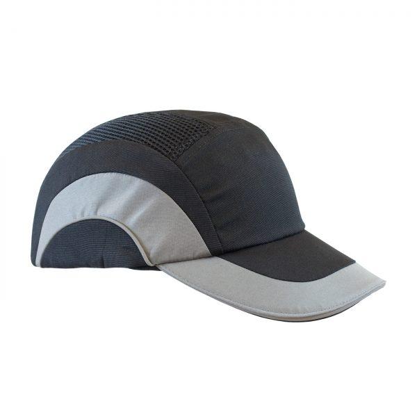 PIP Baseball style bump cap gray