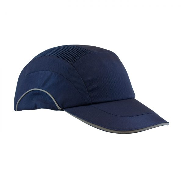 PIP Baseball style bump cap navy blue