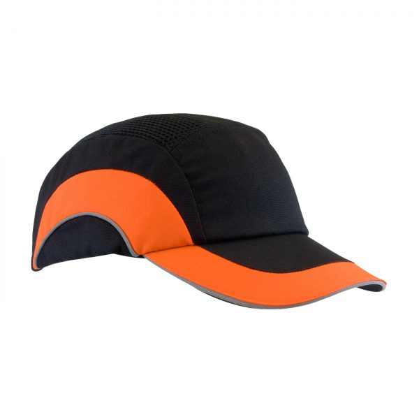 PIP Baseball style bump cap orange