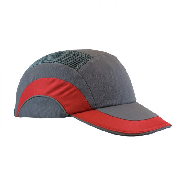 PIP Baseball style bump cap red/gray