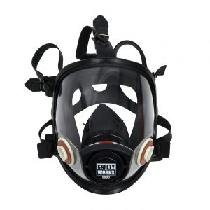 PIP Safety Works Full Face Piece respirator