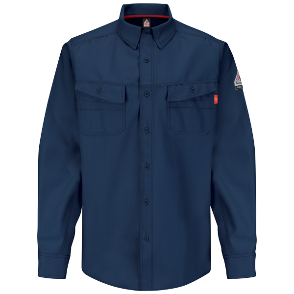 Bulwurk IQ FR work shirt navy