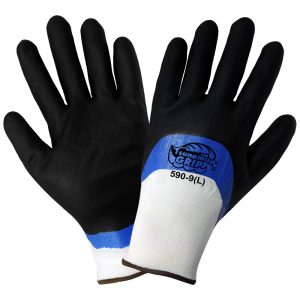 Global Glove 590 Double Dipped Nirtile Coated Glove