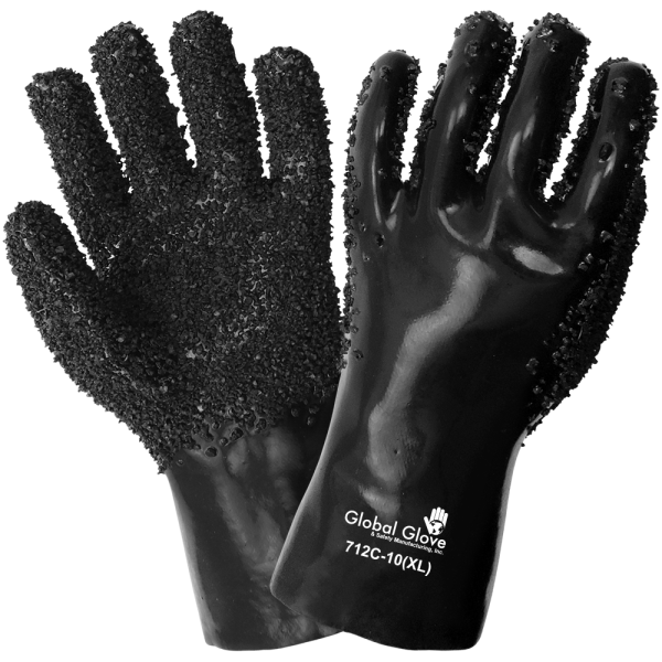 Global Glove 712C Double Dipped with Chipped Finish