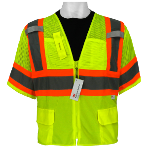 Global GLO-127 ANSI class 3 safety vest