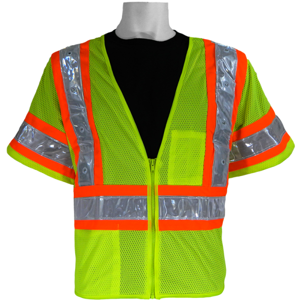 Global FrogWear GLO-12LED Safety Vest with LED lights, off