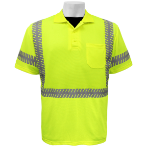 Global GLO-209 Yellow\Green ANSI class 3 Polo