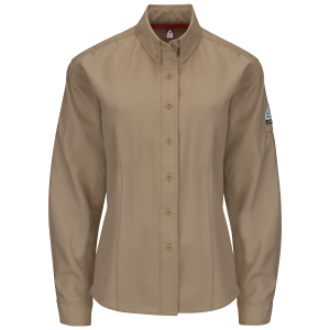 iQ series Flame resistant shirt woman's in kahki