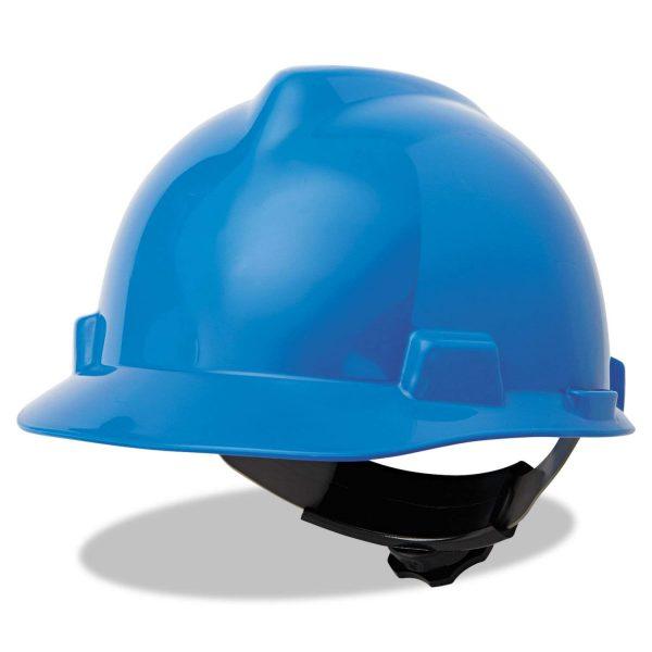 MSA V-Gard 4 Point Suspension Blue