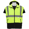 Global Frog Wear GLO-B2 Bomber Style Jacket Sleeves Removed