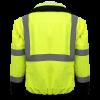 Global Frog Wear GLO-B2 Bomber Style Jacket Back