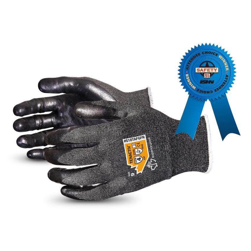 Superior Glove S18AFGFN Nitrile Coated Cut Glove