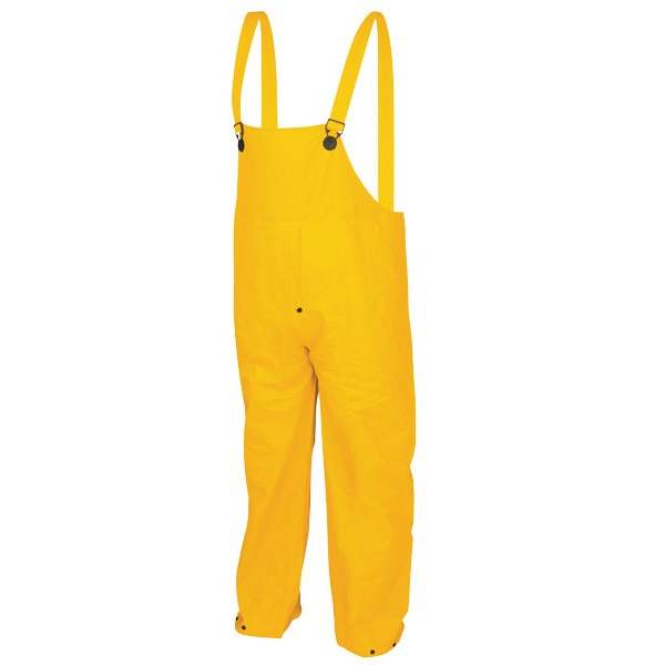 MCR 2403 PVC Poly Rain Suit Bib-Pants