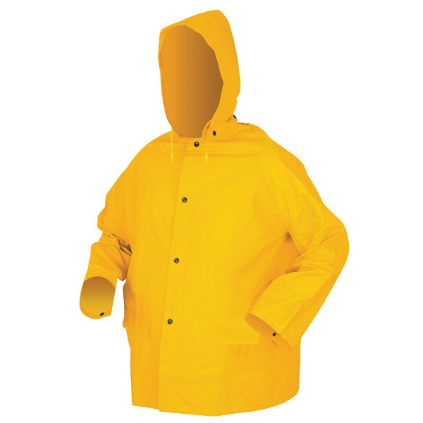 MCR 2403 PVC Poly Rain Suit Jacket