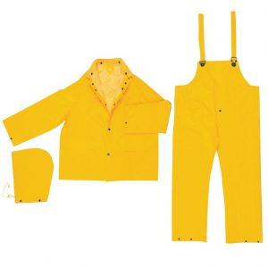 MCR 2403 PVC Poly Rain Suit