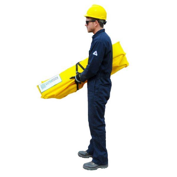 Ultra Tech Mini Foam wall berm man carrying