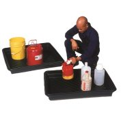 UltraTech Ultra-Utility Tray with product and man