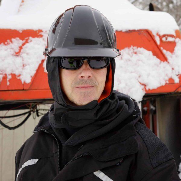 Ergodyne N-Ferno Winter Hard Hat Liner With Hard Hat