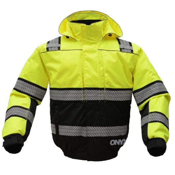 GSS Safety Onyx 3-in-1 Ansi Class 3 Winter Bomber Jacket 8511