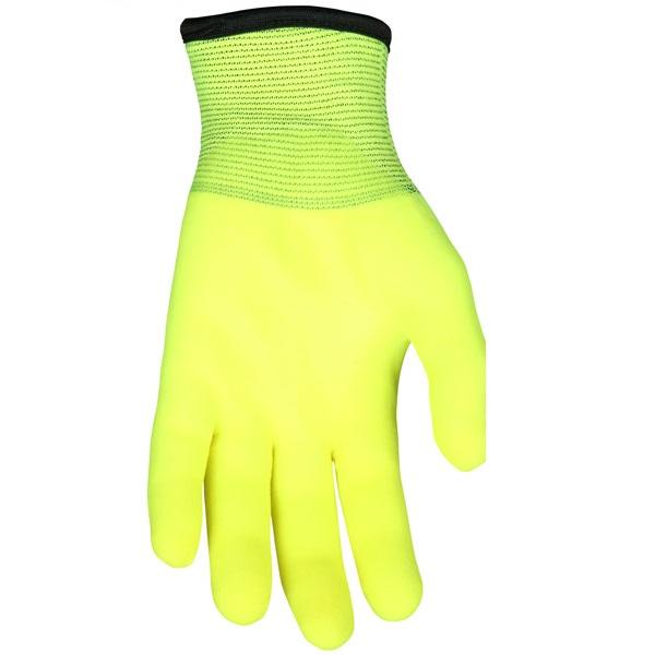 MCR Safety High Vis Ninja Ice Glove N9690HV Palm