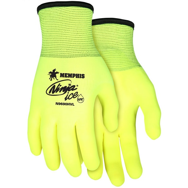 MCR Safety High Vis Ninja Ice Glove N9690HV