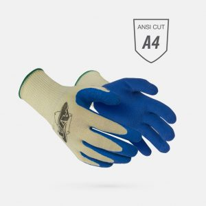 WorldWide MATA10-BDB A4 Cut Glove With Blue Coating