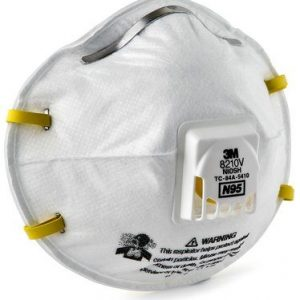 3M N95 particulate respirator with vent 8210V