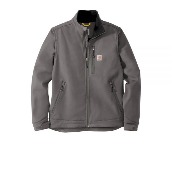 Carhartt Crowley Soft Shell Jacket CT102199 Charcoal Front
