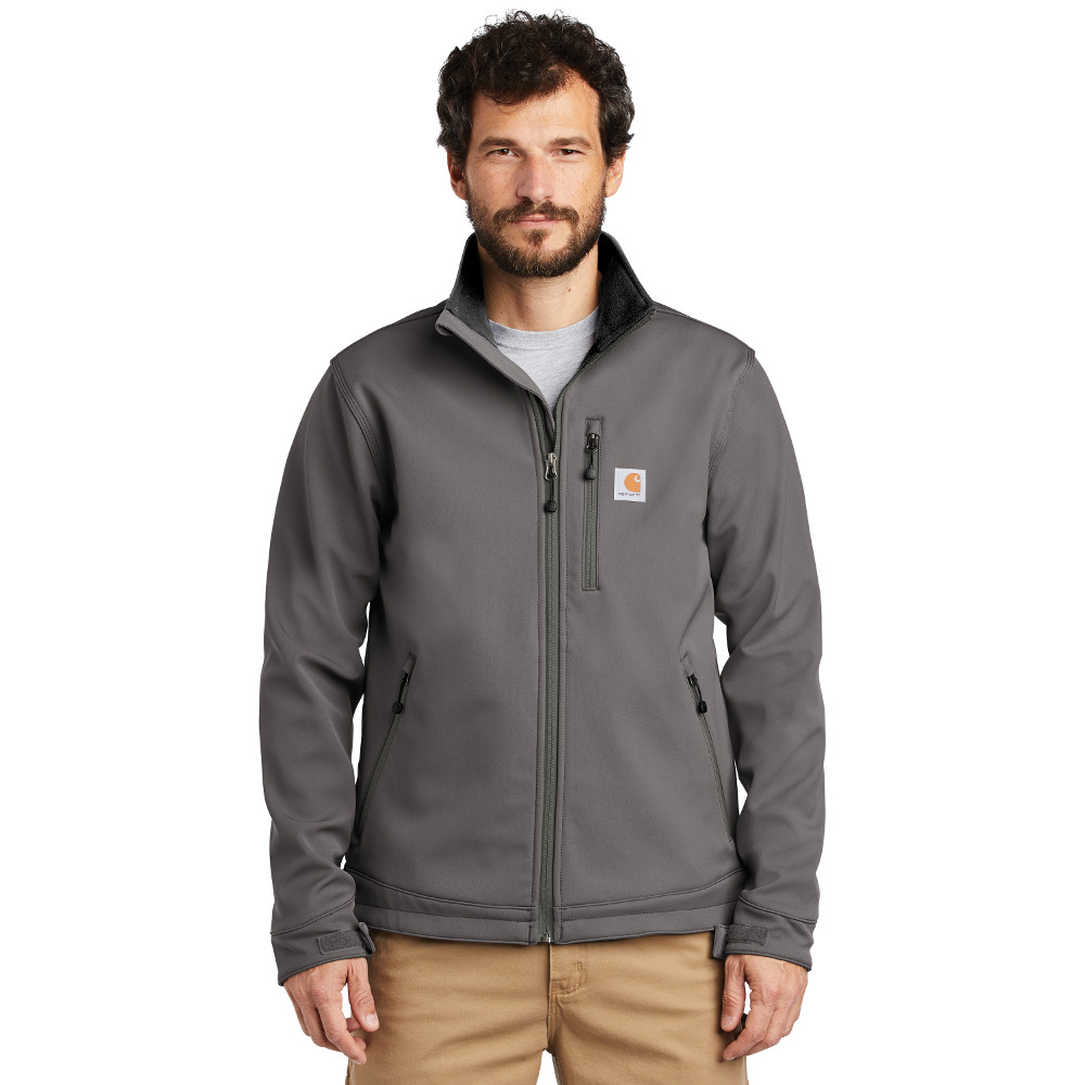 Carhartt Crowley Soft Shell Jacket CT102199 Charcoal
