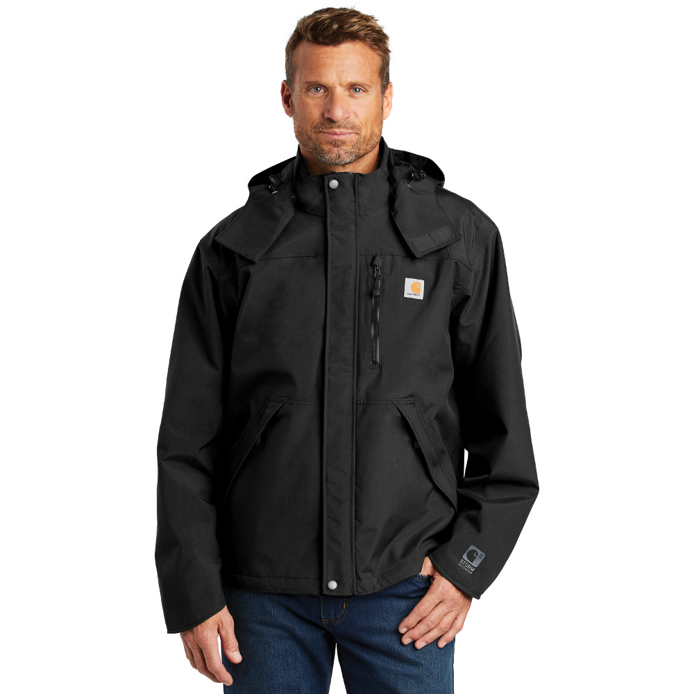 Carhartt CTJ162 Shoreline Jacket Black